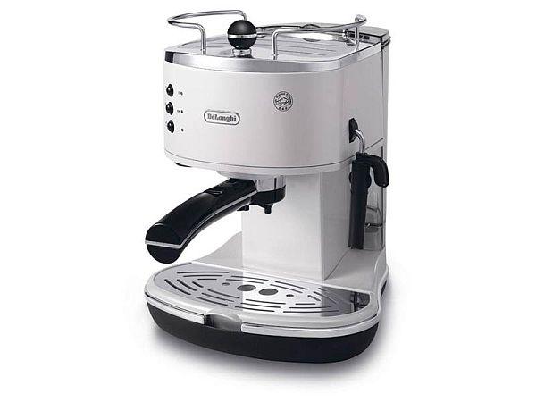 delonghi kaffeemaschine eco310 w espressomaschine wei 1050 watt ebay. Black Bedroom Furniture Sets. Home Design Ideas