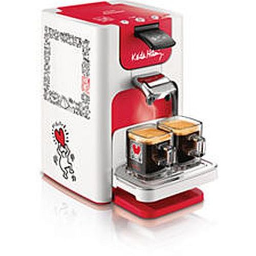 philips kaffeemaschine senseo quadrante hd7860 20 rot weiss ebay. Black Bedroom Furniture Sets. Home Design Ideas
